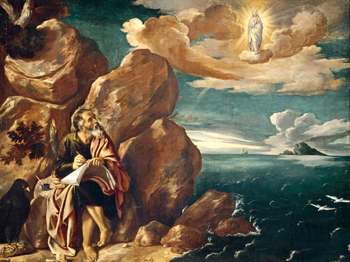 San Juan Apocalipse - uma mulher vestida com o sol
