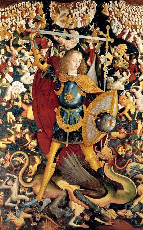 Arcángel San Miguel y los santos ángeles