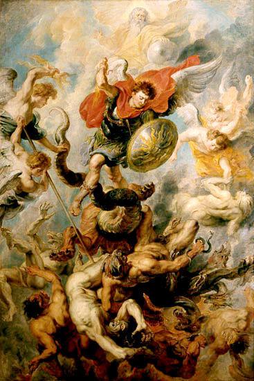 Arcángel San Miguel, ¿Quién como Dios?