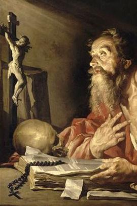 San Jerónimo tradujo la Biblia