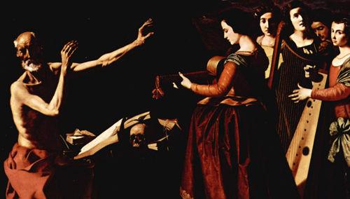 San Jerónimo y las tentaciones